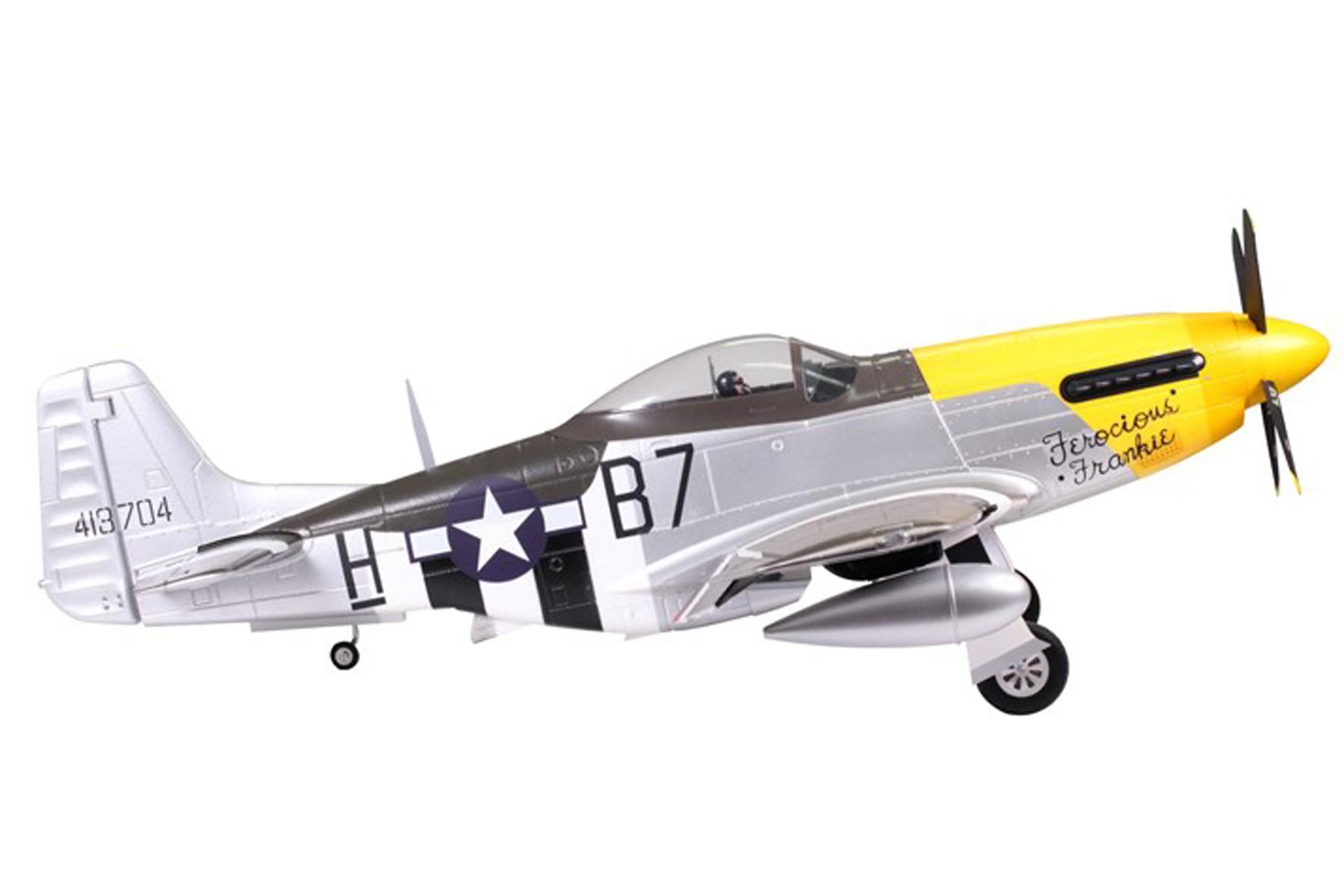 P51D Mustang-Ferocious Frankie fms