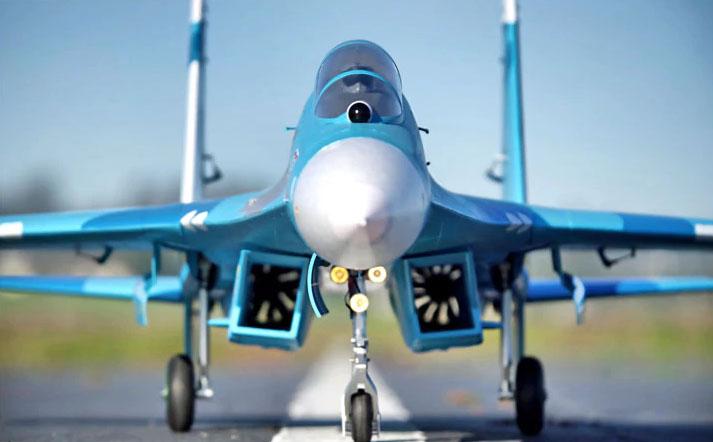 Sukhoi SU-27 fms
