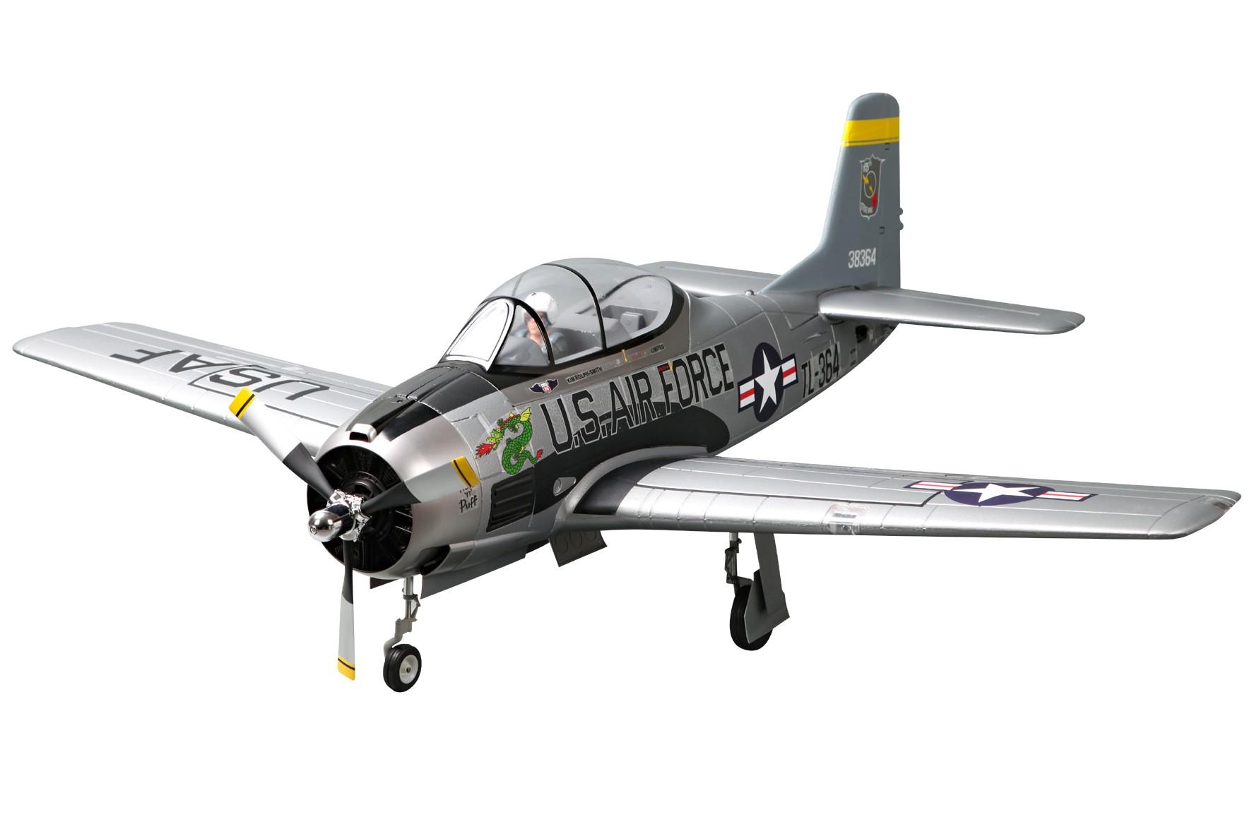 T-28D V4 Trojan fms