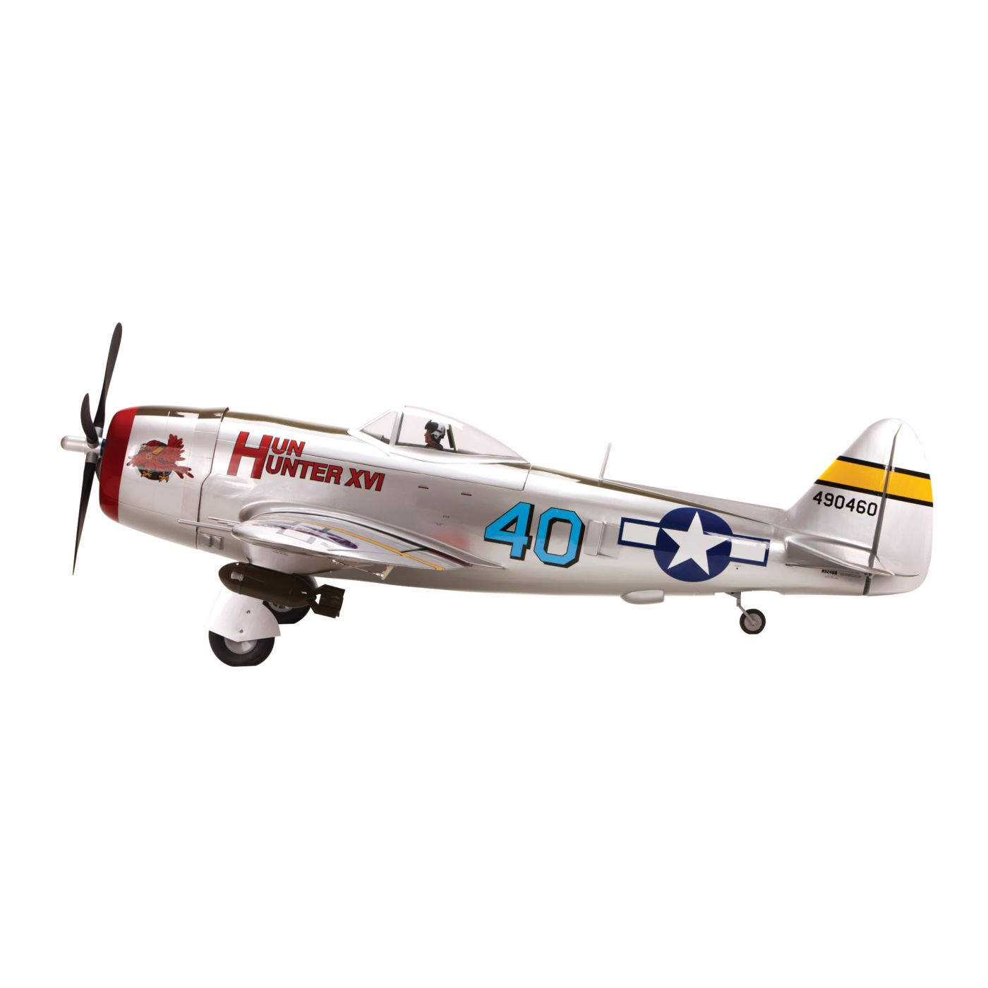 P-47D-40 Thunderbolt hangar 9