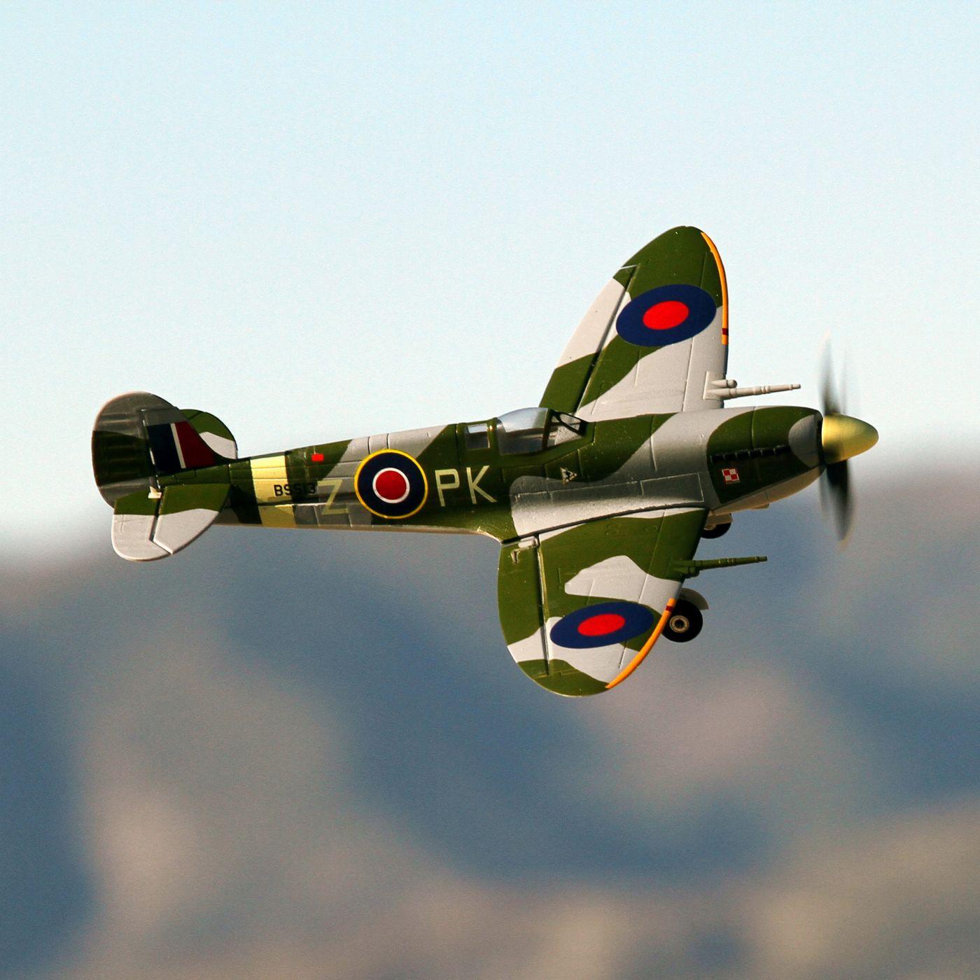 Ultra Micro Spitfire Mk IX parkzone