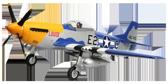 E-flite P-51D Mustang