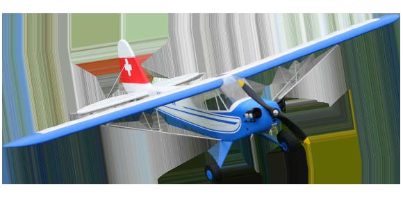 HobbyKing Swiss J-3 Piper Cub