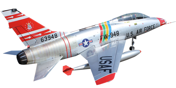 Tomahawk Aviation F-100 Super Sabre